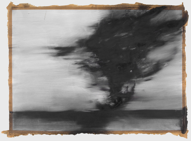 Alexandra Karakashian, 'Passing Series XVII', Drawing, Collage or other Work on Paper, Oil on paper, Strauss & Co