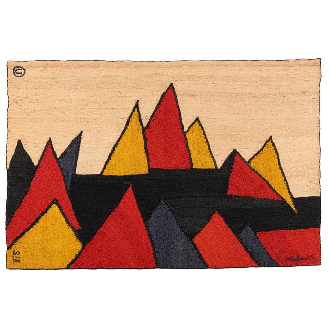 Alexander Calder, 'Pyramid No. 60/100, Tapestry', 1975, PIASA