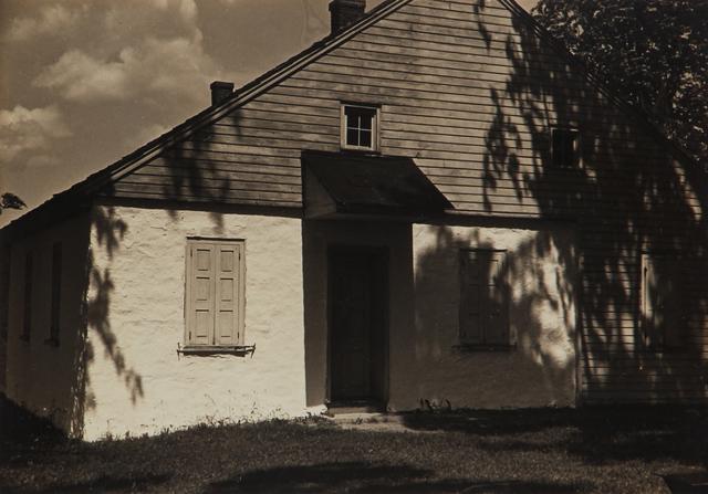 , 'Untitled (farm house and shadows),' 1930-1943, L. Parker Stephenson Photographs