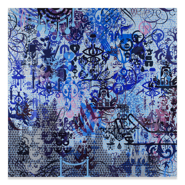 Ryan McGinness, 'A Willing Victim', 2015, Miles McEnery Gallery