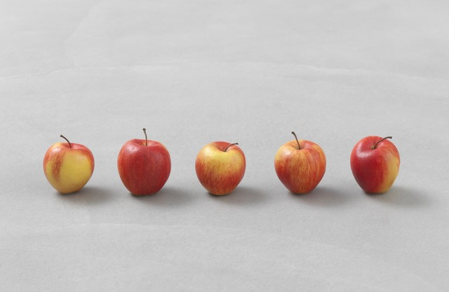 , 'still.life. (five apples in a line),' 2011, Sadie Coles HQ