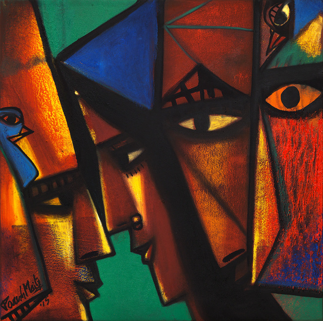 Paresh Maity, 'Colour of Life', 2015, Art Alive Gallery
