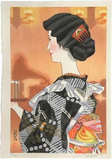 Paul Binnie, 'Flowers of a Hundred Years: Cafe Waitress of 1930', 2013, Scholten Japanese Art
