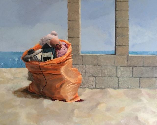 , 'Evacuation,' 2015, Rosenbach Contemporary