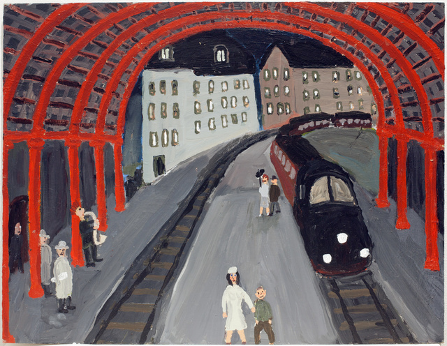 , 'The last train to Paris / Nattåget,' 2014, Galleri Magnus Karlsson