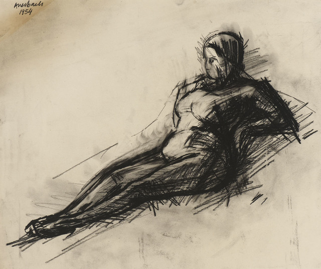 Frank Auerbach, 'Nude', 1954, Ben Uri Gallery and Museum
