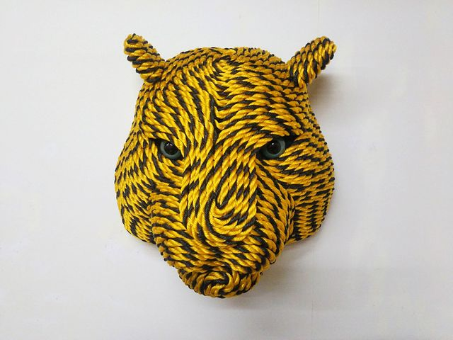 , 'Tiger Head, from Tiger Rope Pattern,' 2018, eitoeiko
