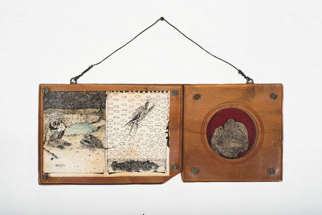 David Beck, 'Drawing with Coin', 1970-1979, Allan Stone Projects