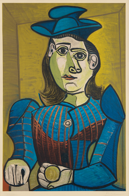 Pablo Picasso, 'Dora Maar (Femme assise) (Dora Maar - Seated Woman)', 1955, Phillips