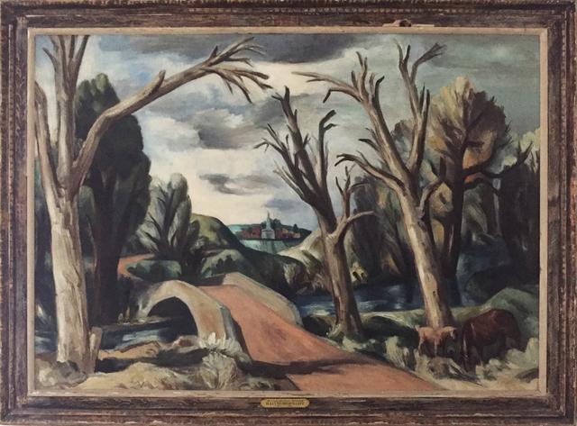 ", '""Bridge across Stream"",' 1930s, Contemporary Works/Vintage Works"