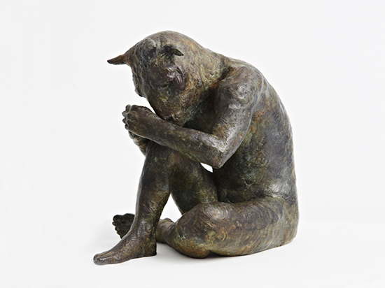 Beth Carter, 'Minotaur and Moth', Sculpture, Bronze, Hugo Galerie