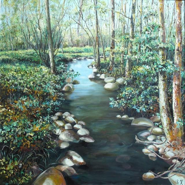 , 'Creek,' 2016, A-Art Shengzan Gallery