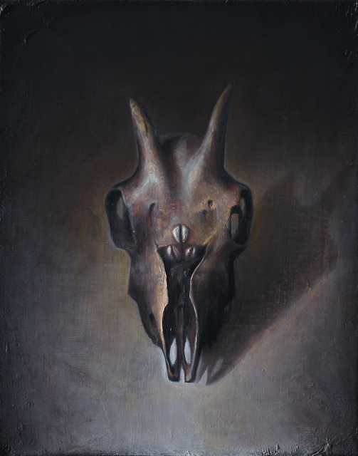 , 'Old Goat Skull,' , Booth Gallery