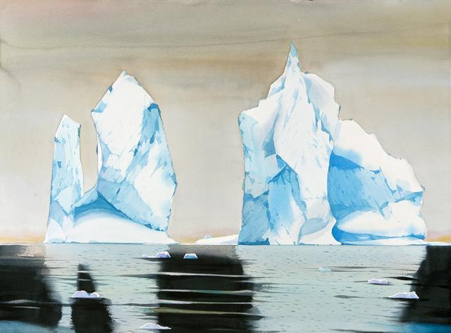 , 'Icebergs, Palmer Station, Antarctica ,' , Dowling Walsh