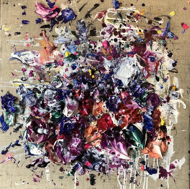 , 'Ocher Purple II,' 2018, Maddox Arts