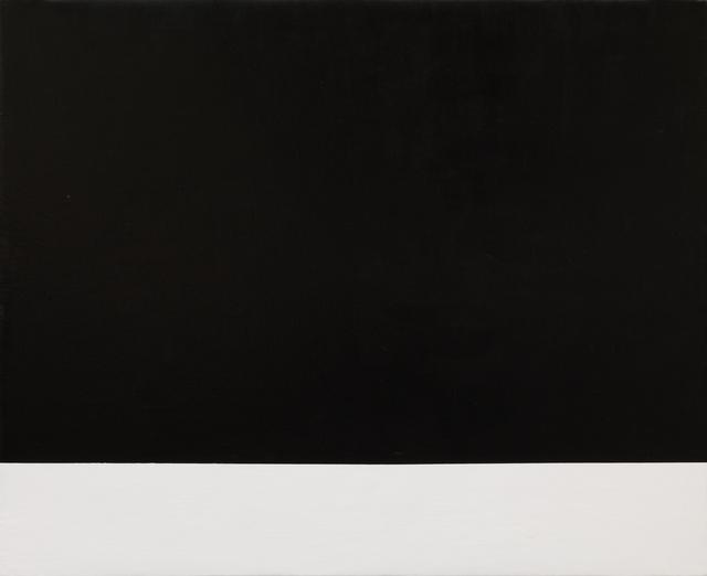 , 'donotclickthru (black rectangle),' 2016, Galleria Pack