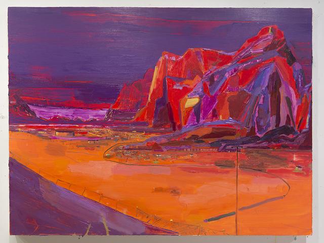 , 'Purple Mountains,' 2015, Jonathan Ferrara Gallery