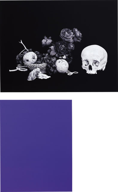 Shirana Shahbazi, 'Two works: (i) [Monochrome-01-2007]; (ii) [Stillleben-15-2007]', 2007, Phillips