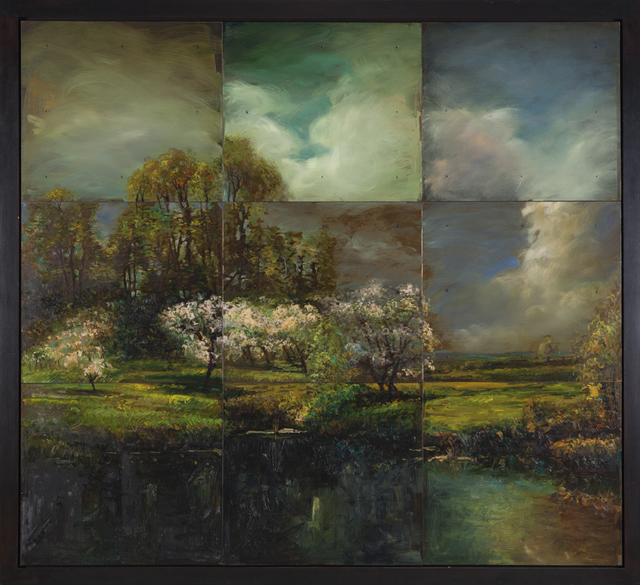 , 'A Distant Light, from John Appleton Brown, Trees in Blossom #2,' 1993, Nancy Hoffman Gallery