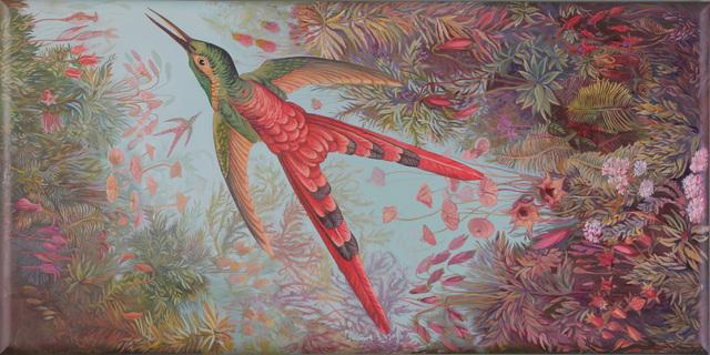 , 'Fragmento de un paisaje imaginado (políptico),' 2016, Isabel Croxatto Galería