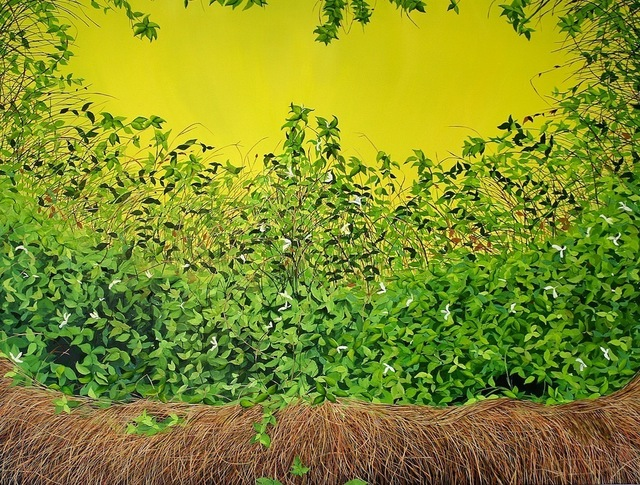 , 'Yellow Thicket (Thicket #3),' 2011, Susan Eley Fine Art