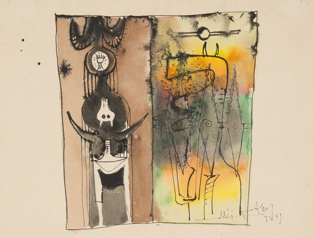 Wifredo Lam, 'UNTITLED', 1949, Galerie des Modernes