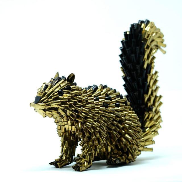 , 'Squirrel,' 2018, LGM Arte Internacional