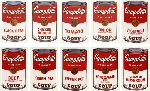 Andy Warhol, 'Campbell's Soup I, 1968', 1968, Kings Wood Art