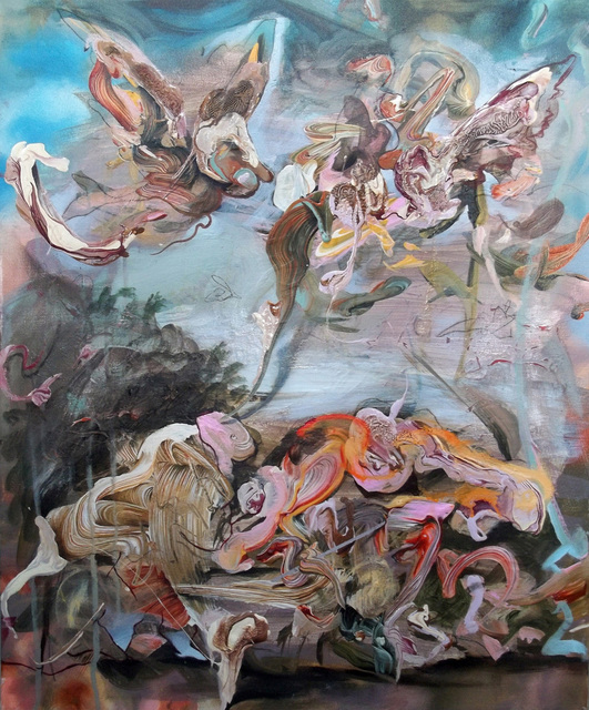 , 'The Fall of the Rebel Angels,' 2018, James Freeman Gallery