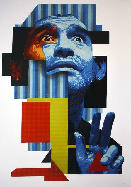 , 'La mano de Dios, Portrait of Diego Armando Maradona,' 2012, Manfredi Style