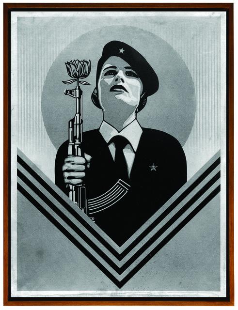 Shepard Fairey (OBEY), 'Peace Guard 2', 2017, Underdogs Gallery
