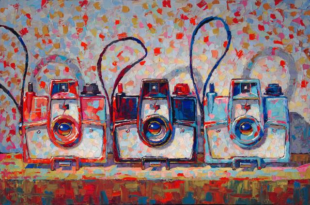 , 'Three Mark VII Cameras,' 2017, George Billis Gallery