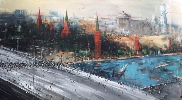 "Konstantin Batynkov, '""Kremlin"" 10', 2015, Krokin Gallery"