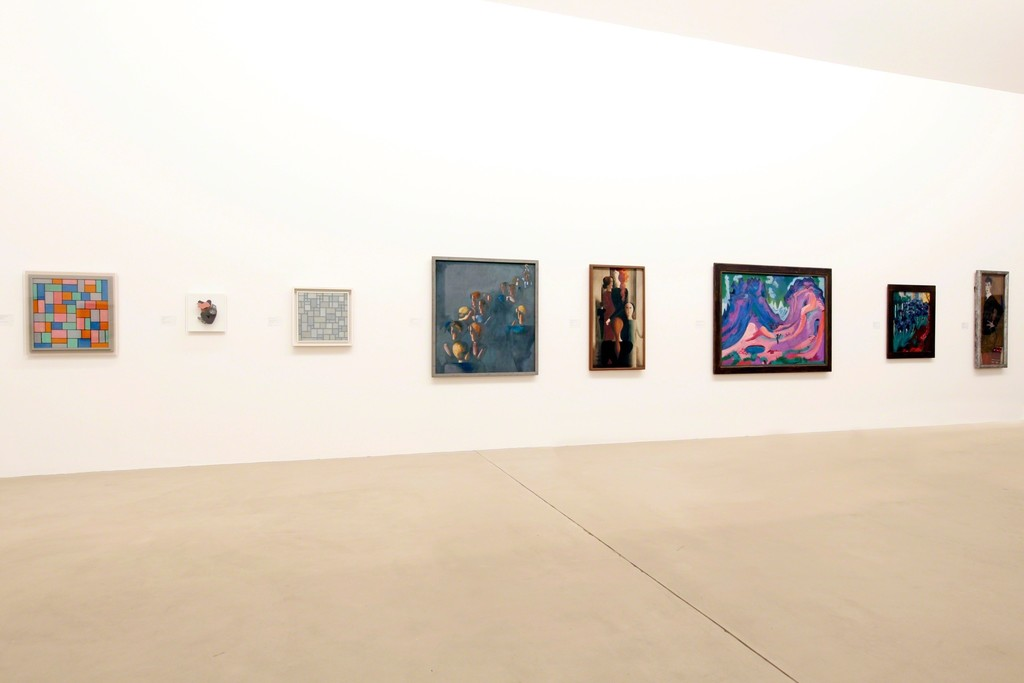 """Installation view of """"Cézanne to Richter: Masterpieces from the Kunstmuseum Basel""""  Photo credit: Kunstmuseum Basel, Photo: Julian Salinas"""