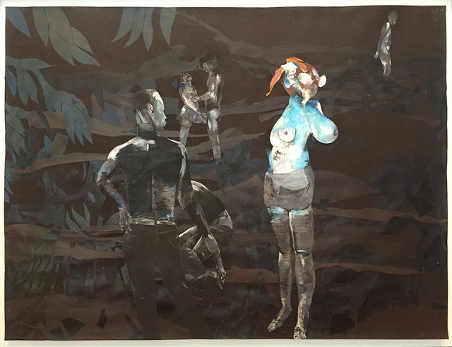 Wardell Milan, 'A midnight bell, a passing moan', 2017, David Nolan Gallery