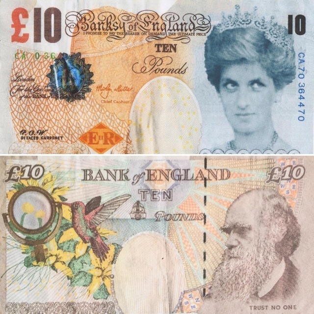 Banksy, 'Di-Faced Tenner', 2004, Marcel Katz Art
