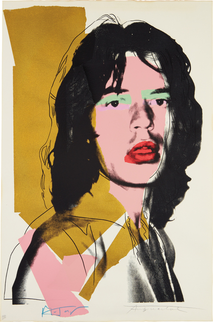 Andy Warhol, 'Mick Jagger', 1975, Phillips