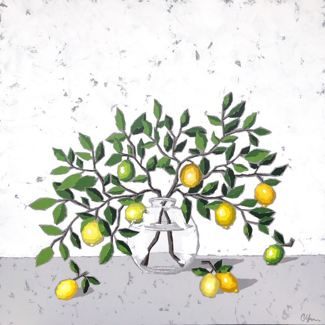 Christie Younger, 'Lemons in Glass', 2019, Shain Gallery