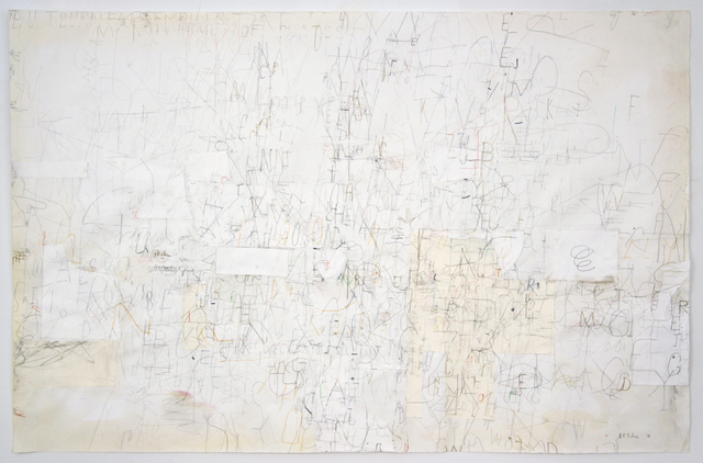 David Scher, 'Four Legged of Queens', 2018, Drawing, Collage or other Work on Paper, Mixed media on paper, Pierogi