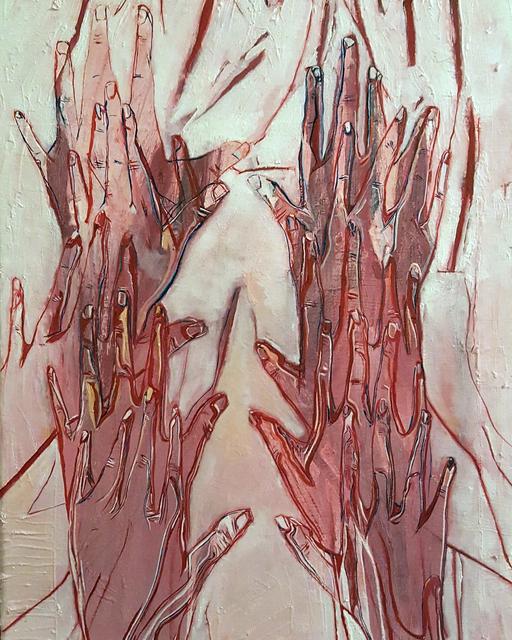 , 'Untitled (Hands),' 2019, Abe+Okuta