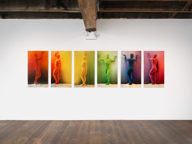 , 'Orchid RGB Color Spectrum 1-6,' 2018, The Olympia Project