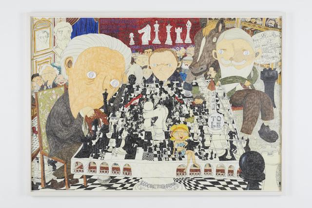 , 'Chess,' 2018, Tomio Koyama Gallery