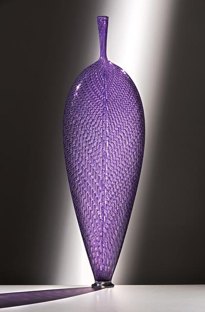 , 'Purple Wavy Leaf,' 2016, Ken Saunders Gallery