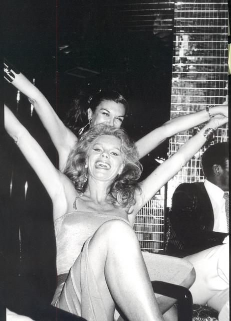 , 'Carmen d'Alessio and Oldile Rubirosa, Xenon, New York,' ca. 1975, Boca Raton Museum of Art