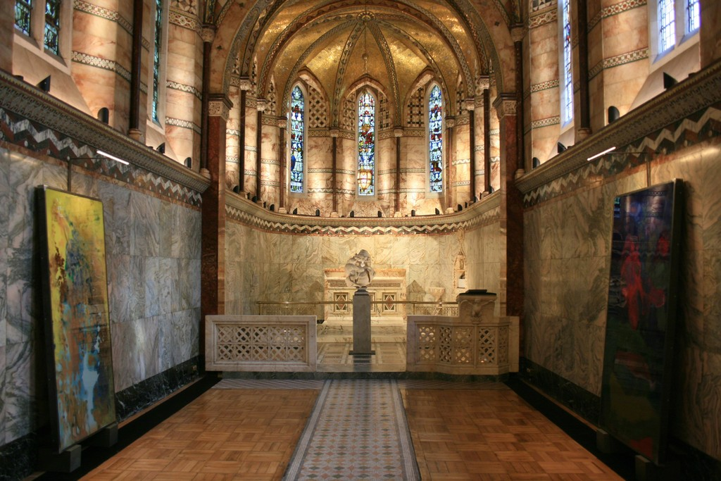 Installation view of Ingleby at the Fitzrovia Chapel, London ( 2 - 5 October 2017)