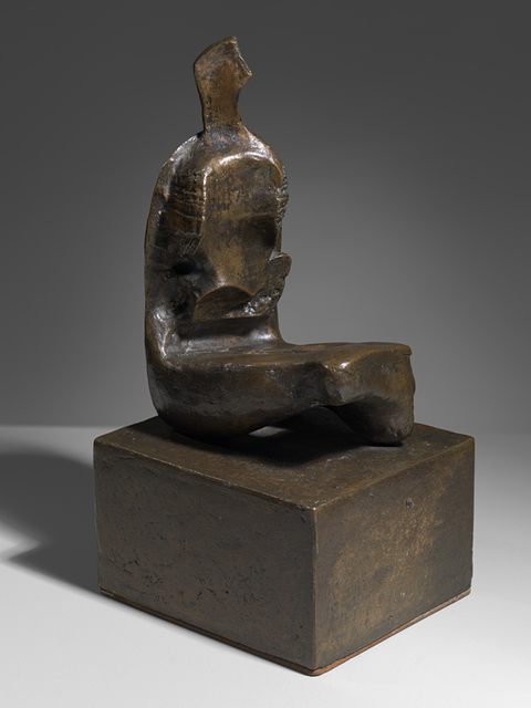 , 'Maquette for Seated Woman Thin Neck,' 1960, Osborne Samuel