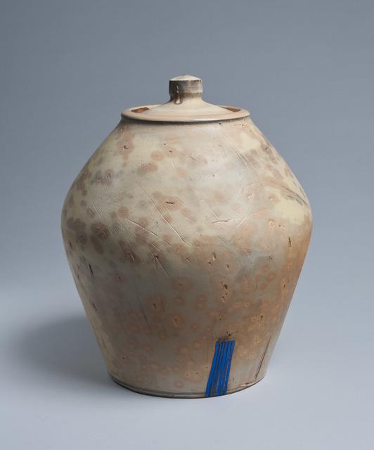 , 'Large Lidded Jar,' 2017, LACOSTE / KEANE GALLERY
