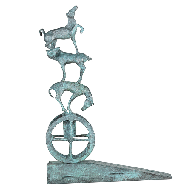 Thomas Ostenberg, 'The Ladder', Sculpture, Bronze, Rago/Wright