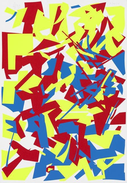 Imi Knoebel, 'Red Yellow Blue', 1994, Galerie Fahnemann