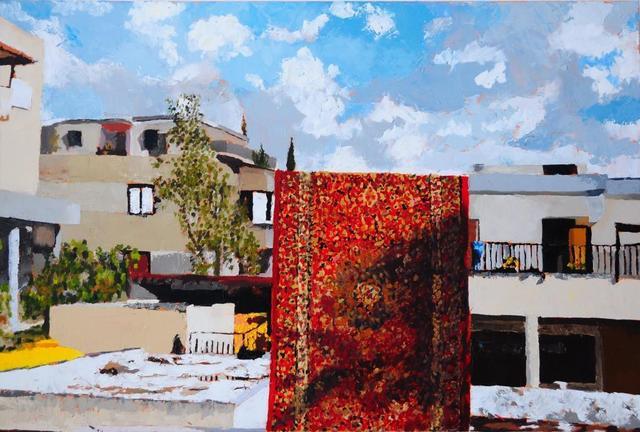 , 'Hanging carpet,' 2011, DITTRICH & SCHLECHTRIEM